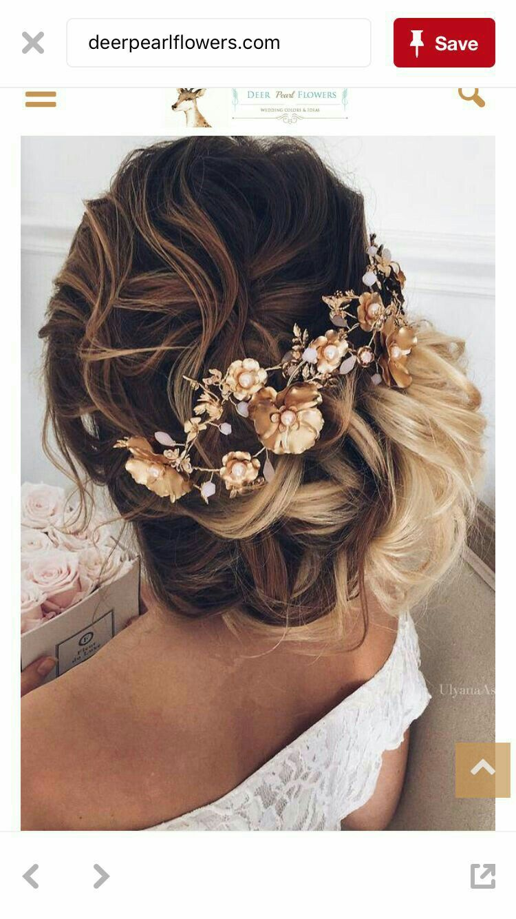 Pin By Zidah Lee Burger On Matric Farewell Hair Ideas Romantic Wedding Hair Long Hair Styles Hair Styles