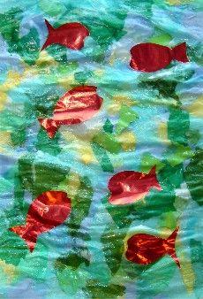 Les poissons rouges matisse arts visuels pinterest for Bocal plastique poisson
