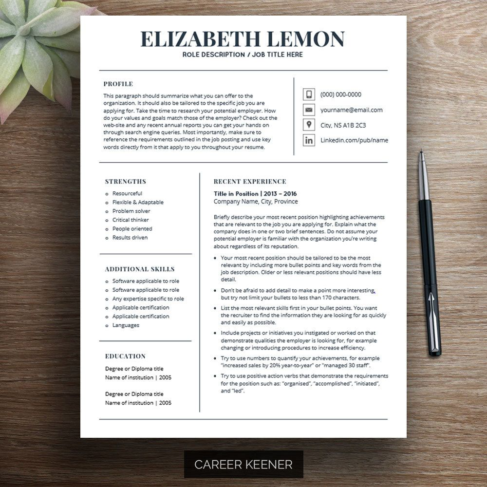 Update your resume and stand out from your competitors with this ...