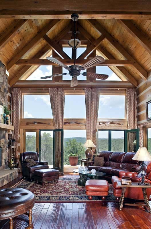StoneMill Log & Timber Homes Picture Gallery - Kenney Project