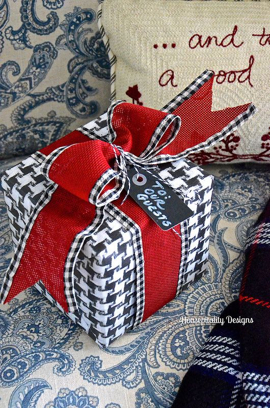 Gift Wrapping Ideas - Housepitality Designs Handmade gift bags
