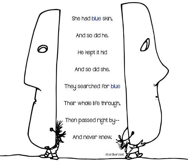 Searching Shared Reading Lesson On Symbolism Shel Silverstein