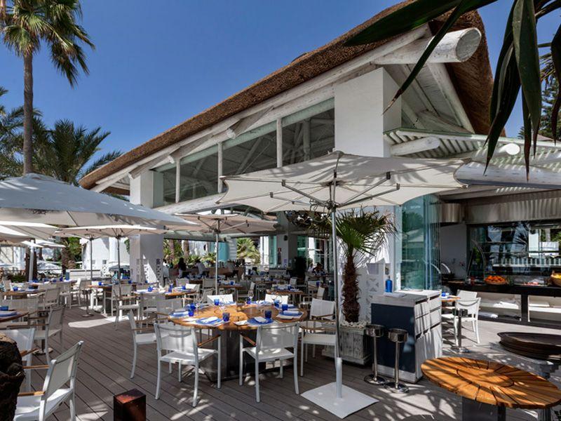 sea grill restaurant at hotel puente romano marbella