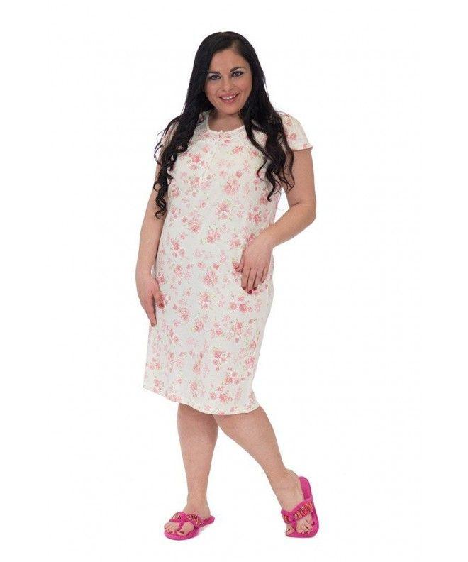 9cf5e227b77c Women s Enchanting Floral Printed Nightgown - Yellow - C712G8R6WMF ...