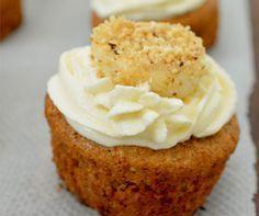 Postres Saludables | CupCake de Banano sin azúcar, preparados con harina de…