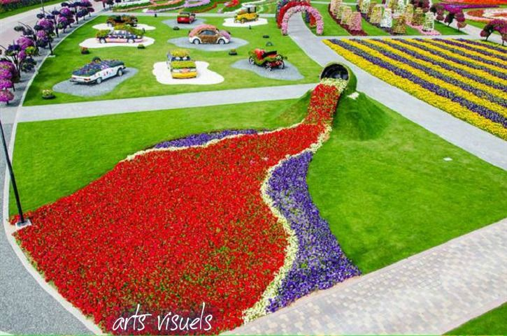 Dubai Miracle Garden Worlds Largest Natural Flower