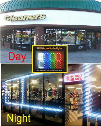 Led Window Lights Attract Attention To Your Store Lights Window Light Led Lights