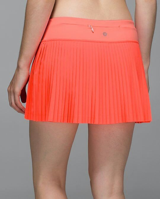 9d58cb2bb9 Lululemon Pleat To Street Skirt. Makes a cute running skirt!! | My ...