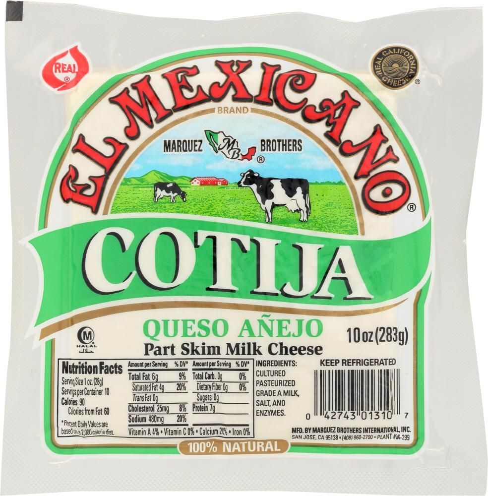 Traditional Cotija Cheese Is Often Called Mexican Parmesan For It S Many Similar Qualities Vegan Mexican Recipes Vegan Recipes Plant Based Whole Food Recipes