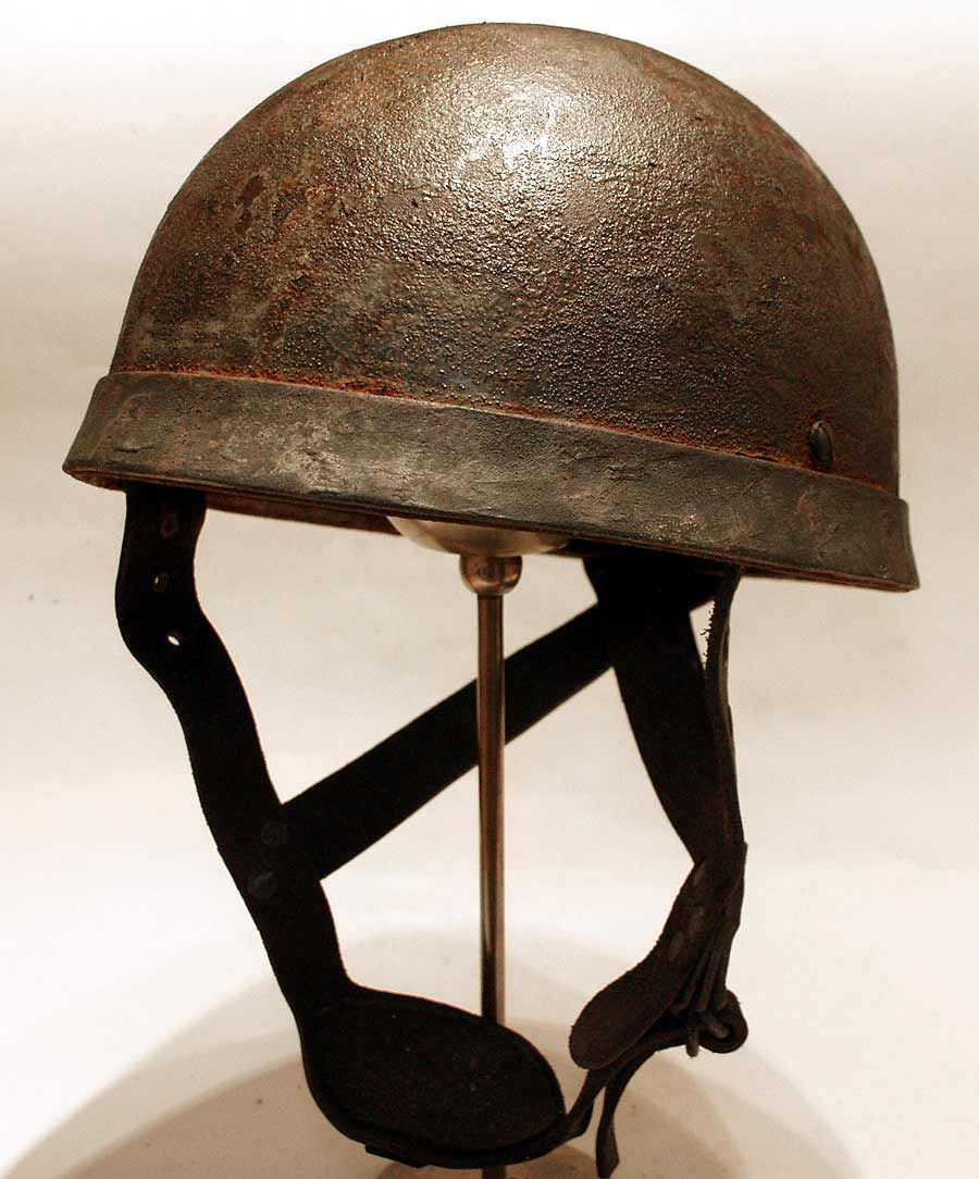 841392f15 WW2 British Paratrooper Helmet 100% post war reprodution ...