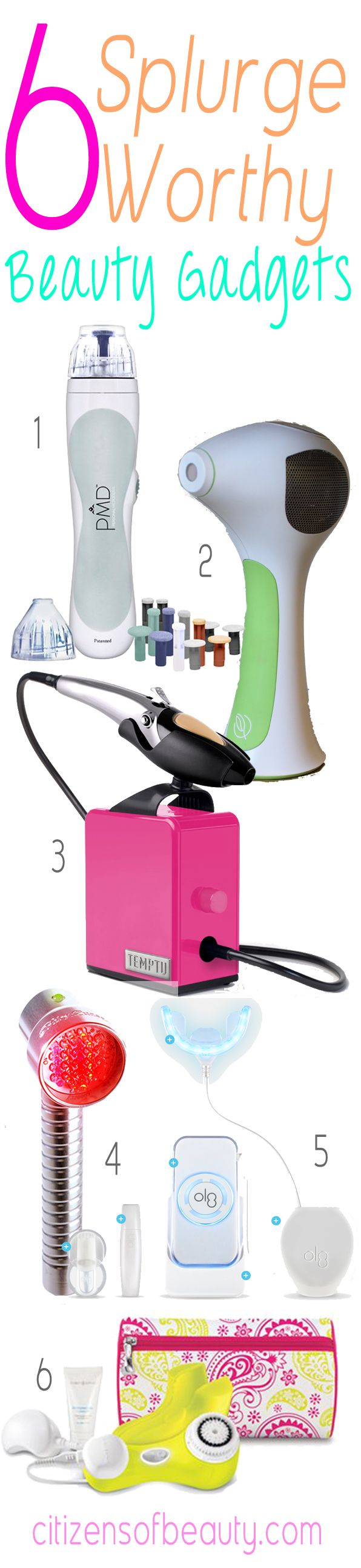 With so many beauty gadgets on the market, it's hard to know which ones are worth the splurge. Here are 6 that are worth the worth.