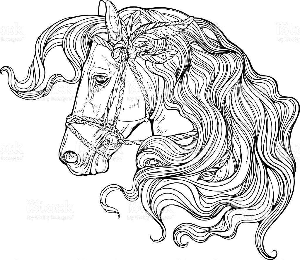 Pferd Window Color Vorlage Zum Ausdrucken Malvorlagen Pferde Pferd Ausmalen Pferd Kinder