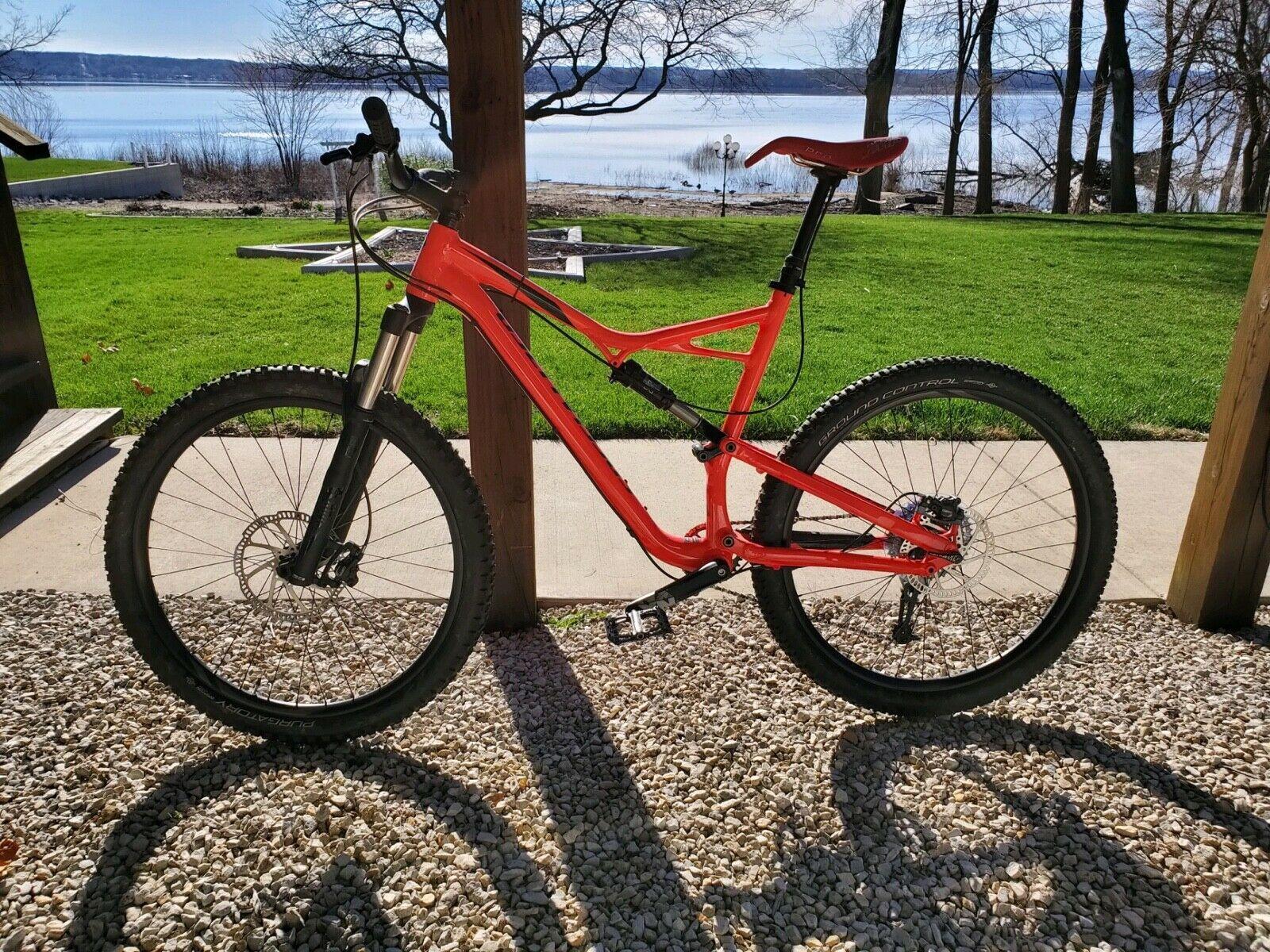 2017 Specialized Xl Mountain Bike 29ercamber Fsr Mountain Bike