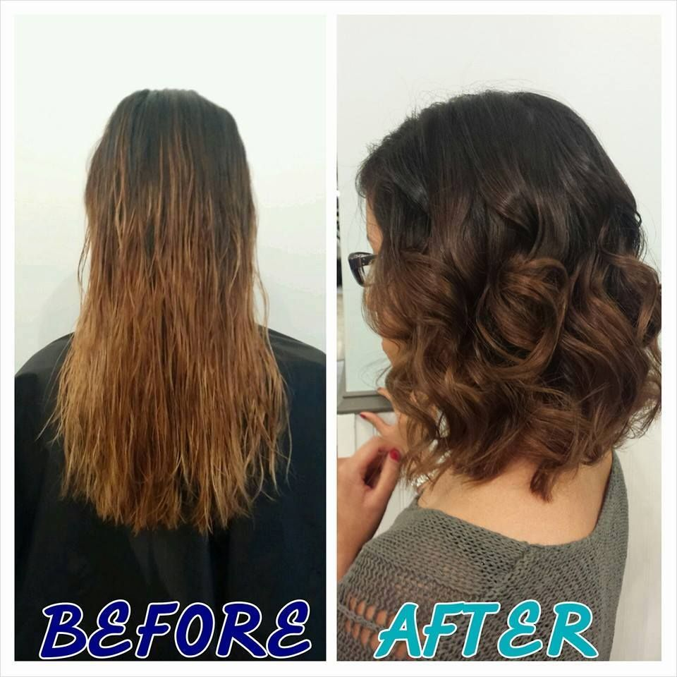 What Do You Think Of This Before After Color Haircut By Alma
