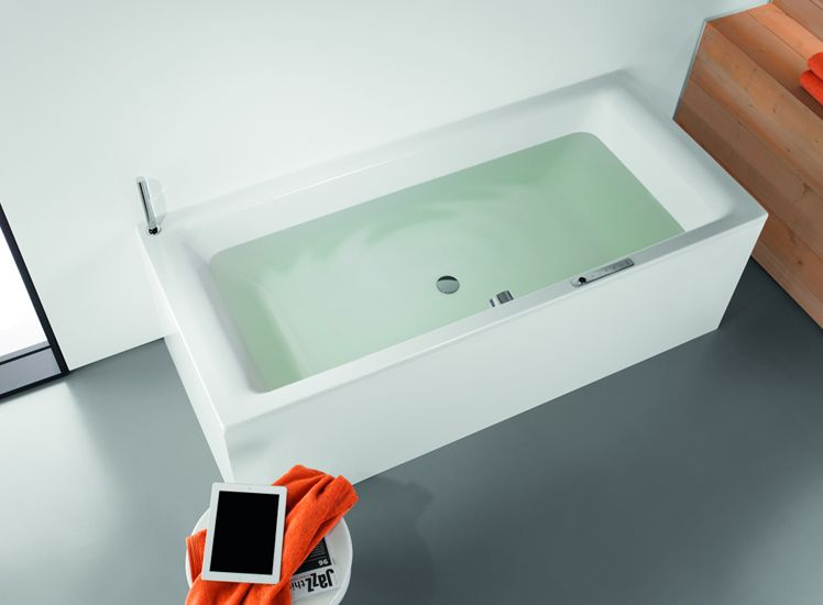 Vasca Da Bagno Kaldewei : Kaldewei porta la musica in vasca da bagno sound wave