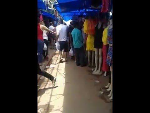 542e22282 venda de roupas na feira hippie em goiania goias - YouTube