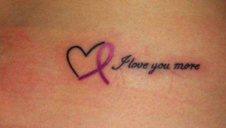 Tatuaje Lazo Cancer tattoo | evelyn | pinterest | tatuajes, tatuajes minimalistas and