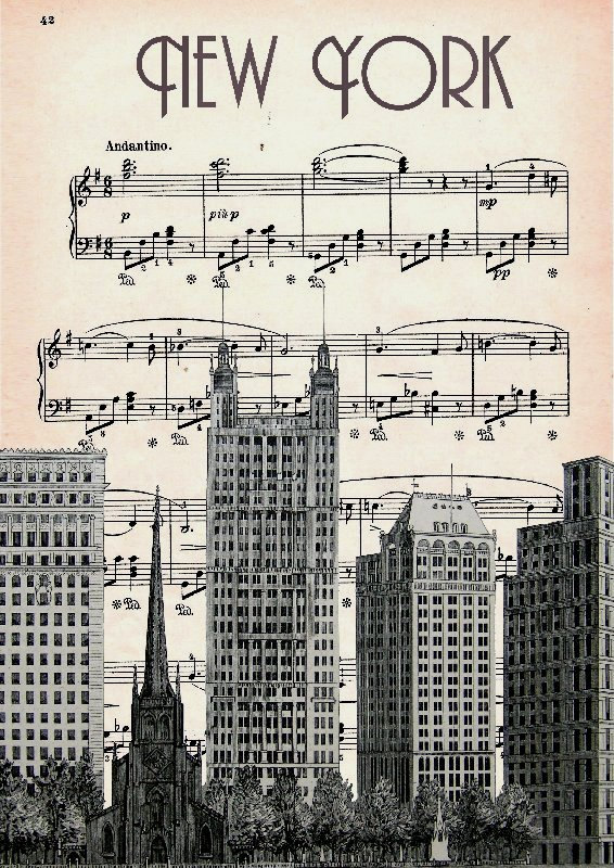 MUSIC RETRO 47   Print Poster Mixed Media Painting by artretro, $17.00 Dad and Ted