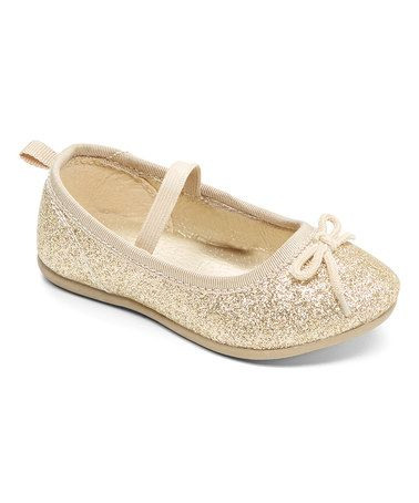 Love this Gold Ruby Flat on #zulily! #zulilyfinds