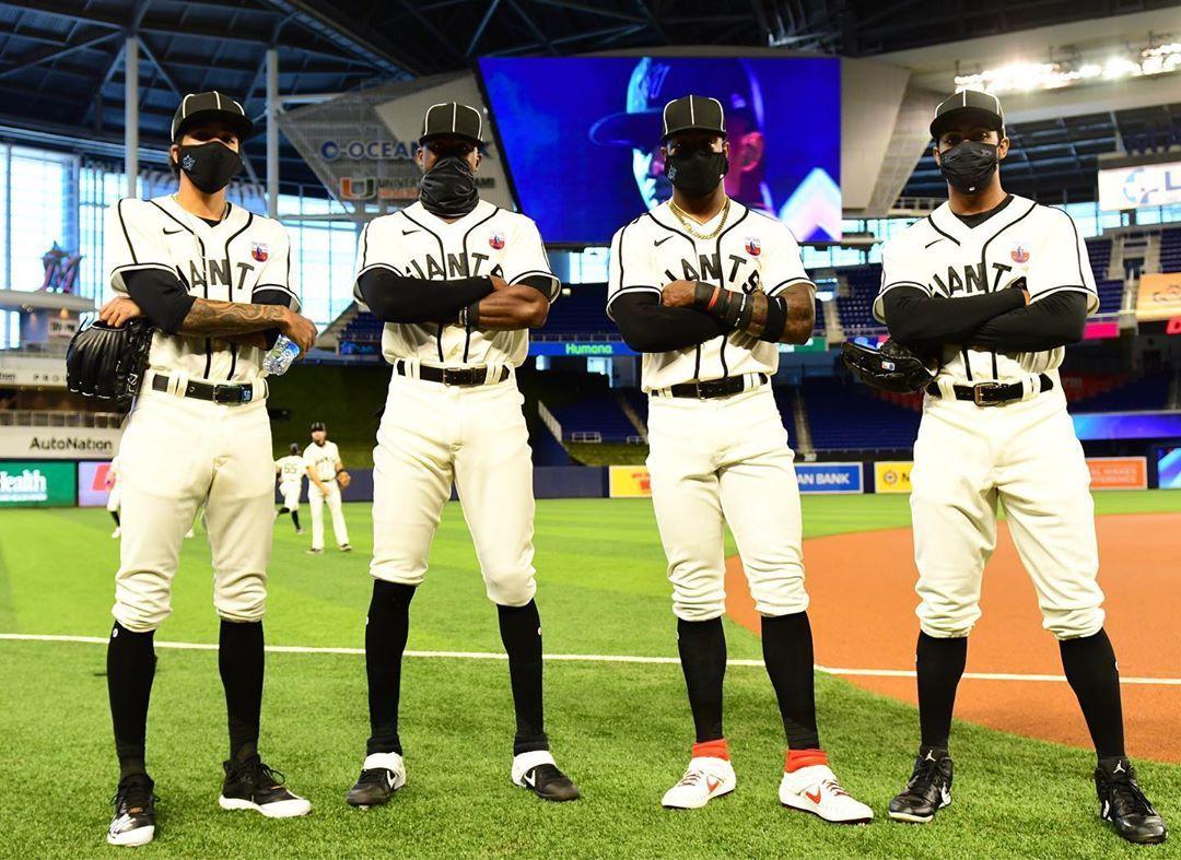 Miami Marlins Iconic Negroleagues100 In 2020 Miami Marlins Marlins Miami