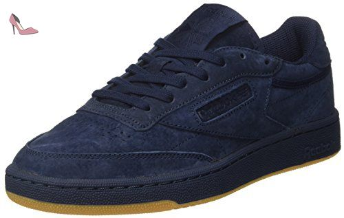 Reebok Club C 85 Tg, Sneakers Basses Homme, Bleu (Collegiate