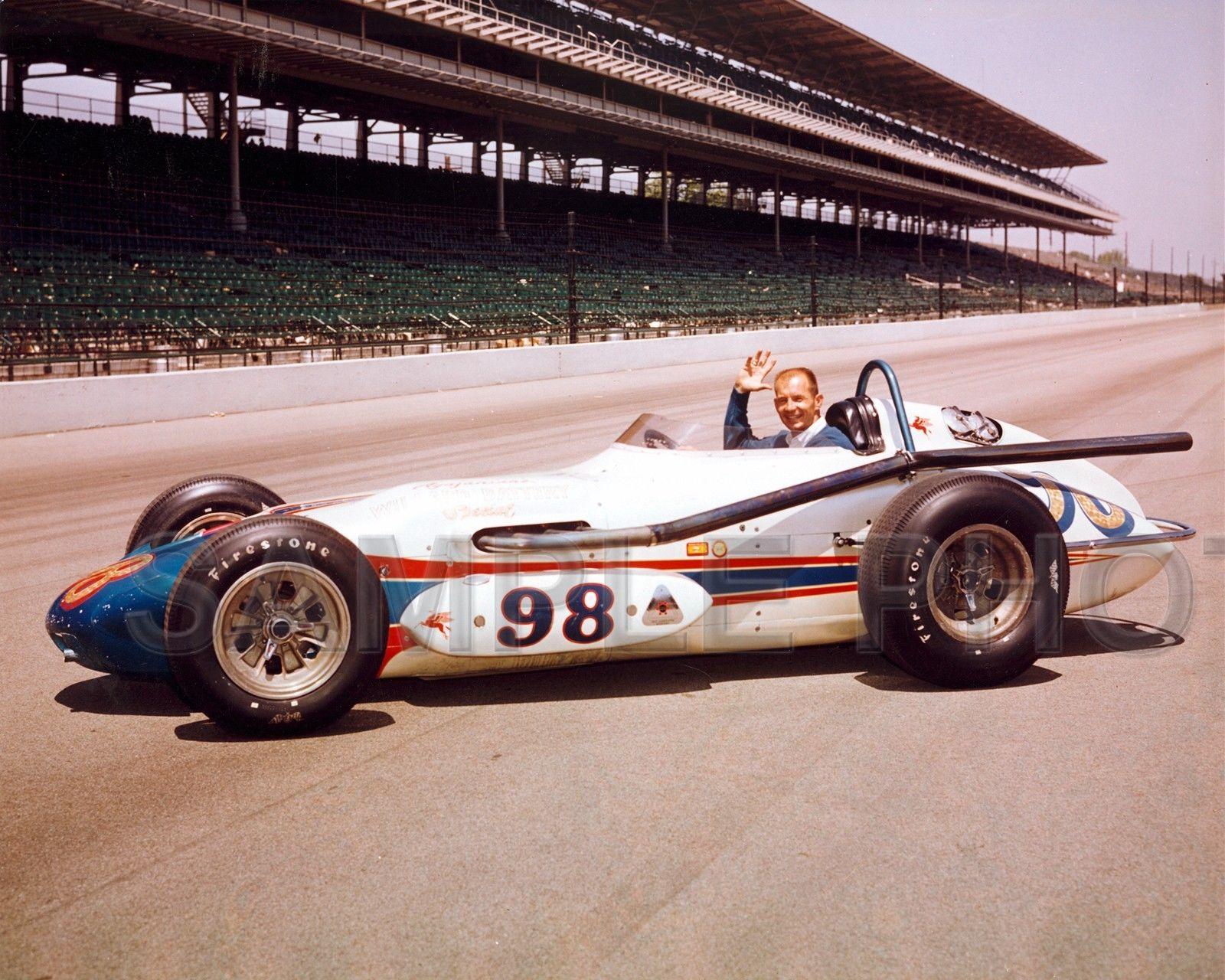 395 parnelli jones 1963 indy 500 auto racing 8x10