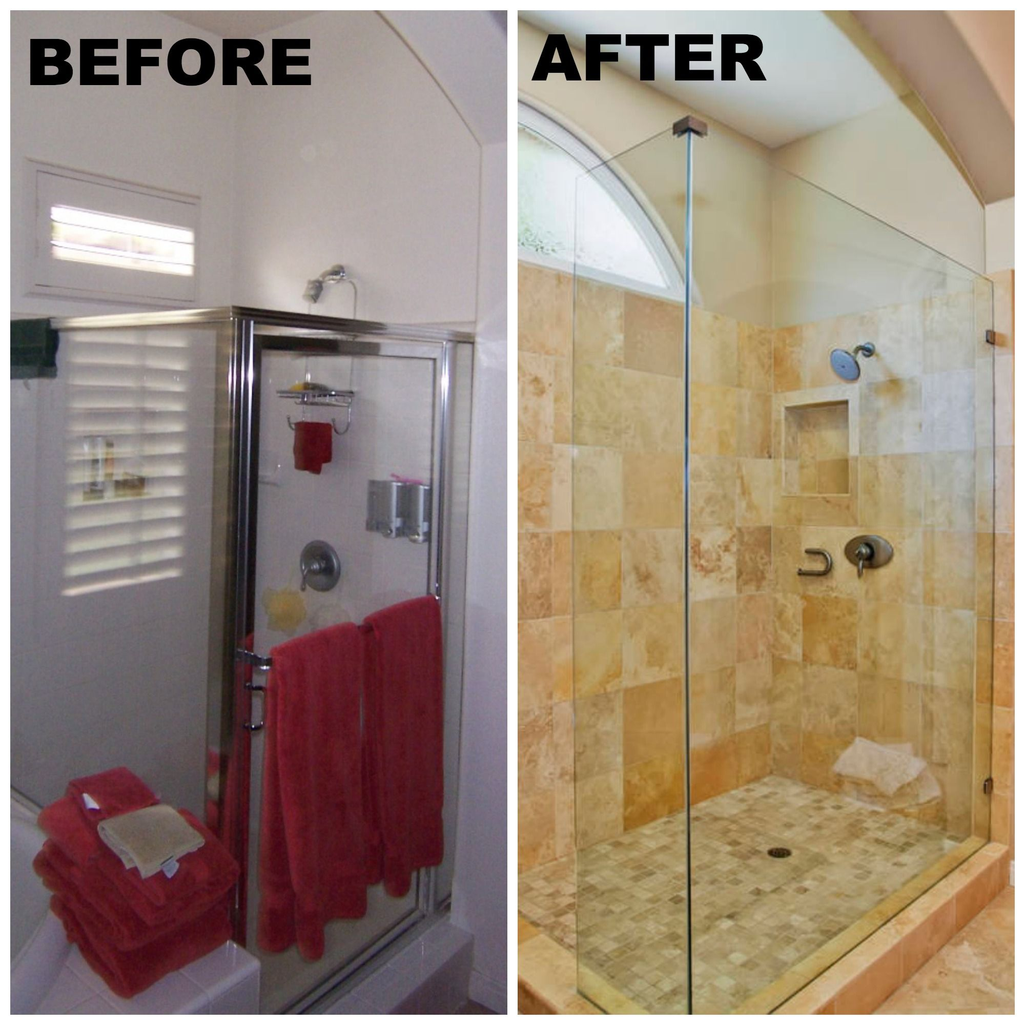 San Diego Bathroom Before And After Wwwremodelworks  Before Glamorous San Diego Bathroom Design Design Decoration
