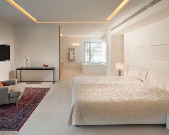 Vous Cherchez Des Idees Pour Comment Faire Un Faux Plafond Eclairage Indirect Faux Plafond Et Chambres A Coucher Modernes