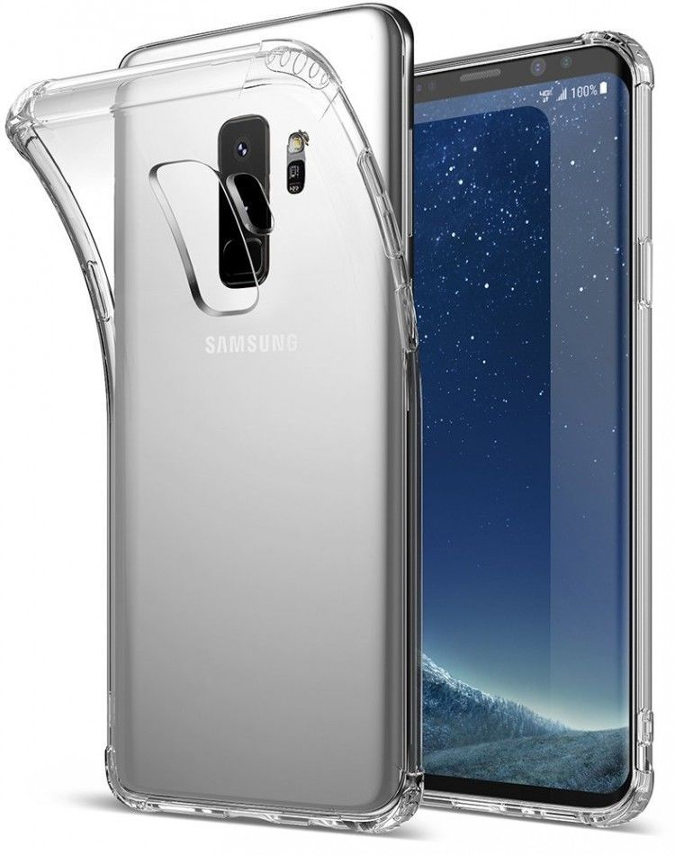 Samsung Galaxy S9 Plus Protective Case TPU Transparent Cover