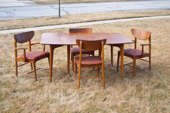 RESERVED Mid Century Kroehler Dining Set | Mid century, Dining sets ...