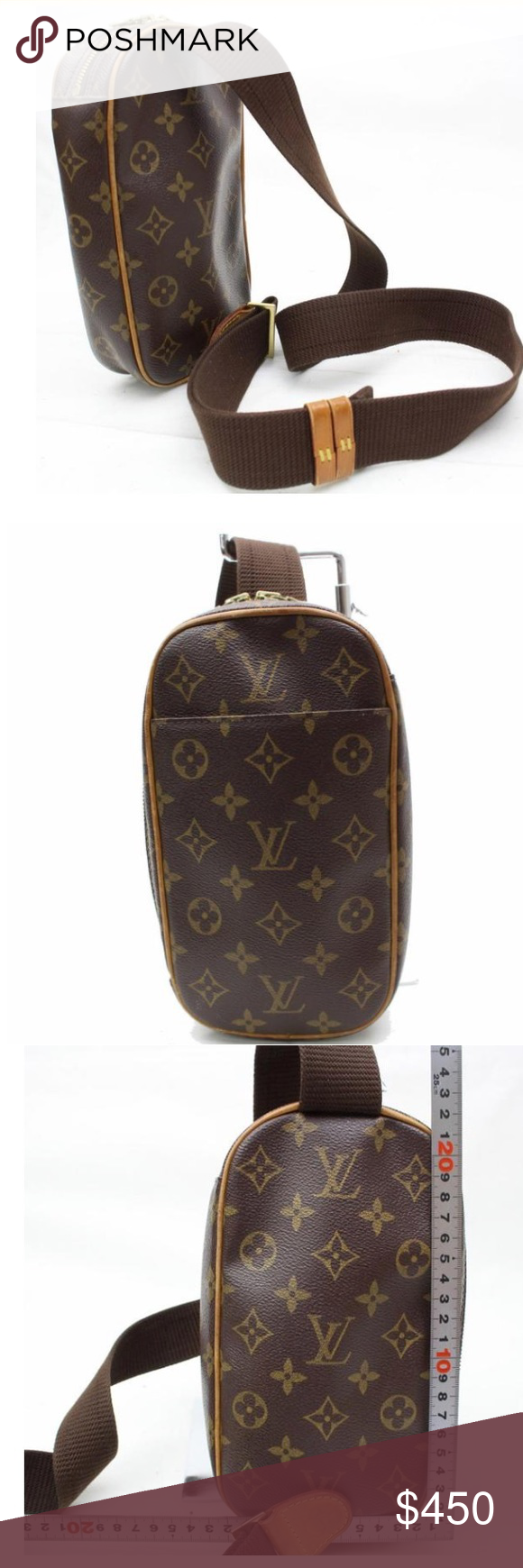 029a9e00a04e LV chest bag Louis Vuitton chest bag. Purchased in Tradesy. Authentic!!  Beautiful on trend bag of the moment. Looking to purchase an off-white so  have to ...