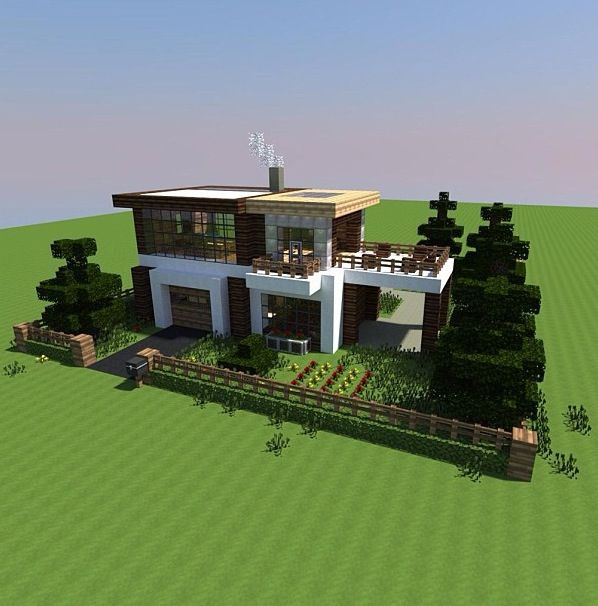 Modern Minecraft House Design For Android: マインクラフト 建築