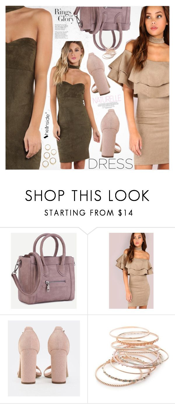 """Choker Dresses"" by vanjazivadinovic ❤ liked on Polyvore featuring Tiffany & Co., Red Camel, Sheinside, polyvoreeditorial and chokerdress"