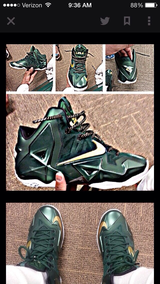 efc6a40e365 ... buy lebron xi player exclusives for lebrons alma mater the st. vincent  st. mary