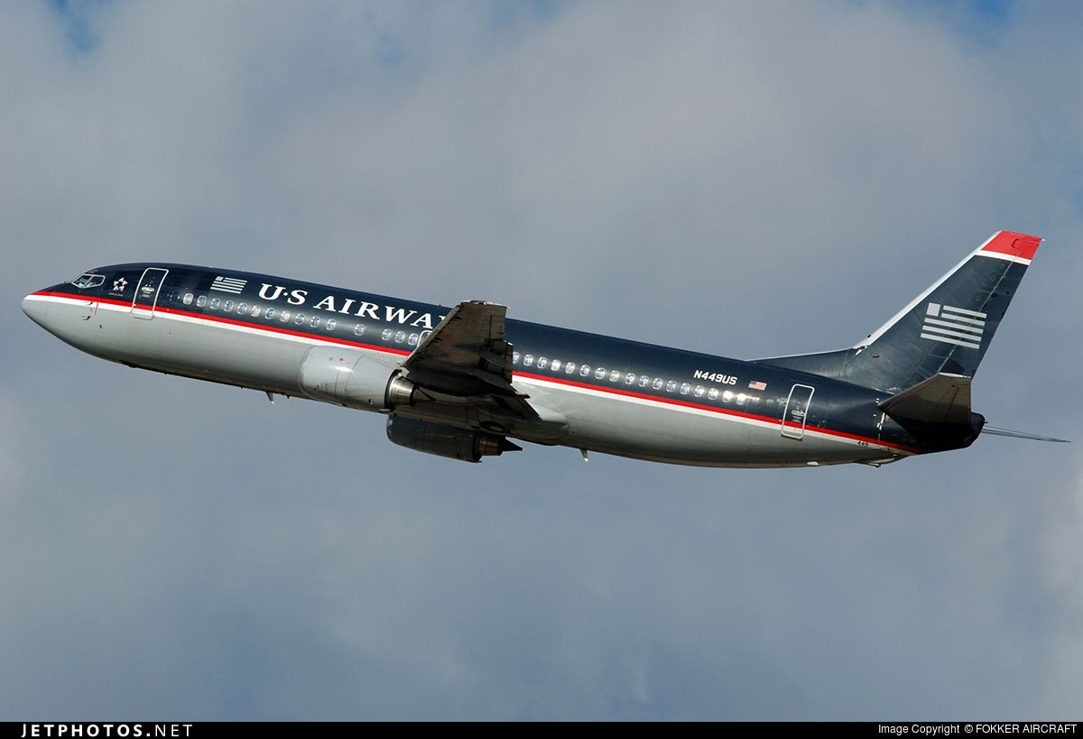 Photo of N449US Boeing 737-4B7 by FOKKER AIRCRAFT