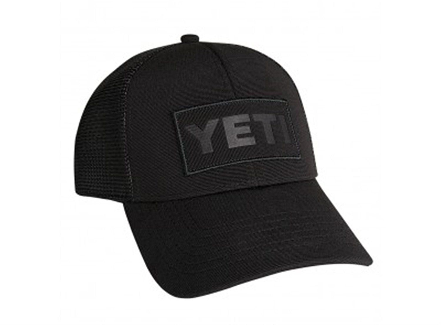 e4283e5bbfa Yeti Black on Black Patch Trucker Hat   This is an Amazon Affiliate link.  You can find out more details at the link of the image.
