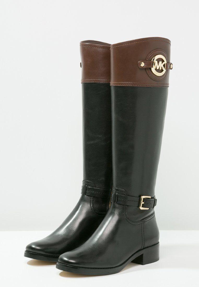 Super MICHAEL Michael Kors STOCKARD Bottes black/mocha prix Bottes Femme  ZG99