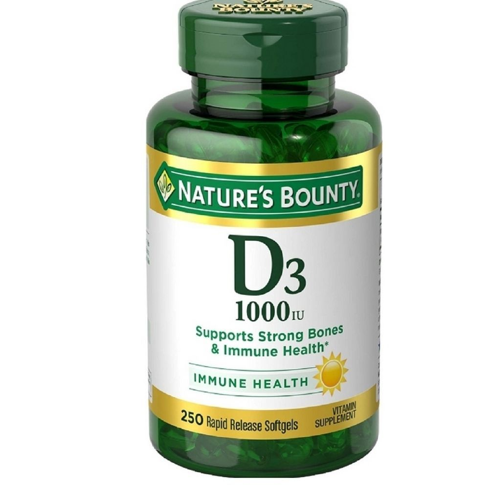 Details About Nature S Bounty Vitamin D 1000 Iu Rapid Release