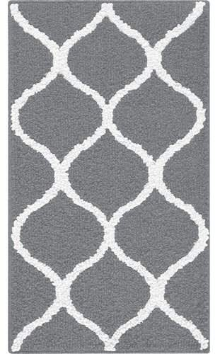 Rebecca 3pc Non Kid Accent Throw Rugs Runner Made In Usa For Kitchen Rug Set Rugs Carpets Home Garden