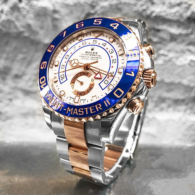 695ea2ea477 Rolex Yacht-Master II Two-Tone Rose With the New Hands! Rate This ...