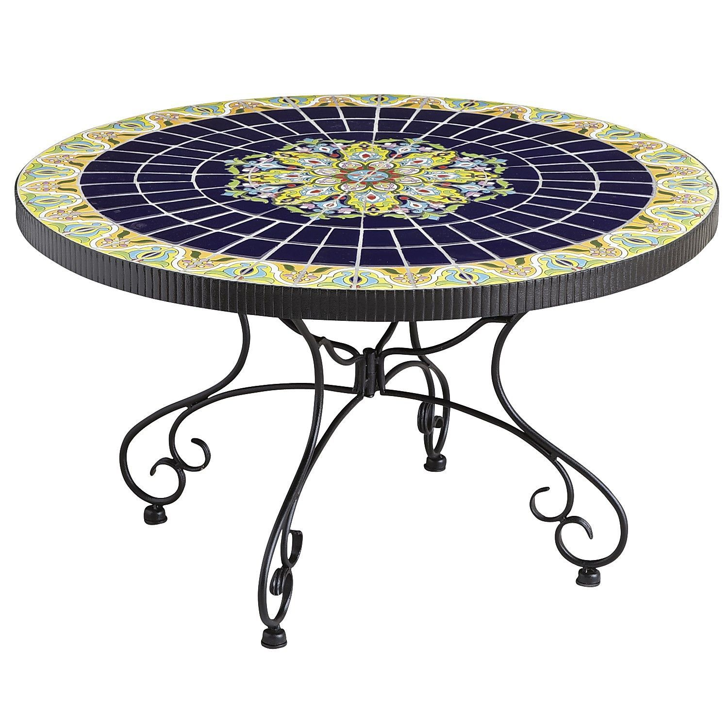 Rania Coffee Table Blue Pier 1 Imports 4195 Outdoor Coffee