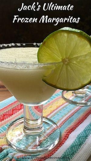 Jack's Ultimate Frozen Margaritas #frozenmargaritarecipes
