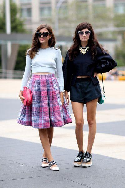 fab x 2. #EleonoraCarisi & #ValentinaSiragusa in NYC.