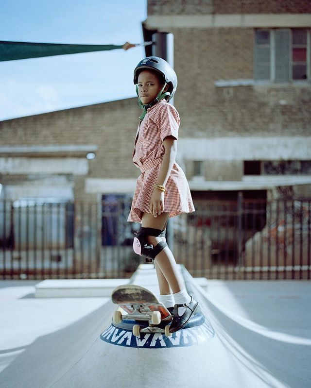 """""""Living in a patriarchal society means girls are often given the short end of the stick... We want to ensure that girls understand their own importance."""" Meet @Skateistan, a non-profit organization using skateboarding and education to improve the lives of girls in Johannesburg. Link in bio.  #VSCO 