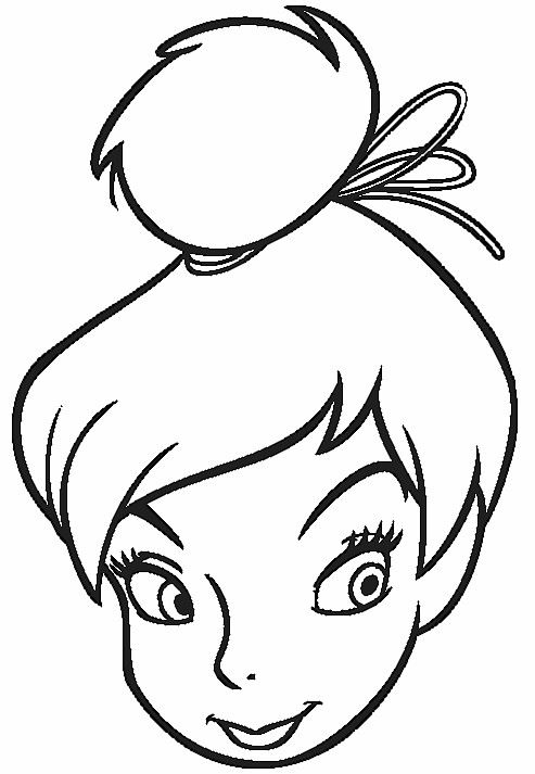 tinker bell color pages printable Tinkerbell Coloring Pages 2 - best of big tinkerbell coloring pages