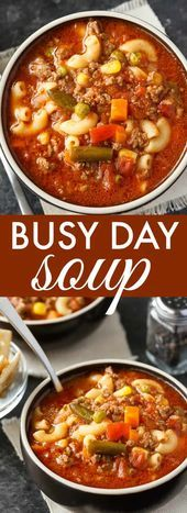 Busy Day SoupBusy