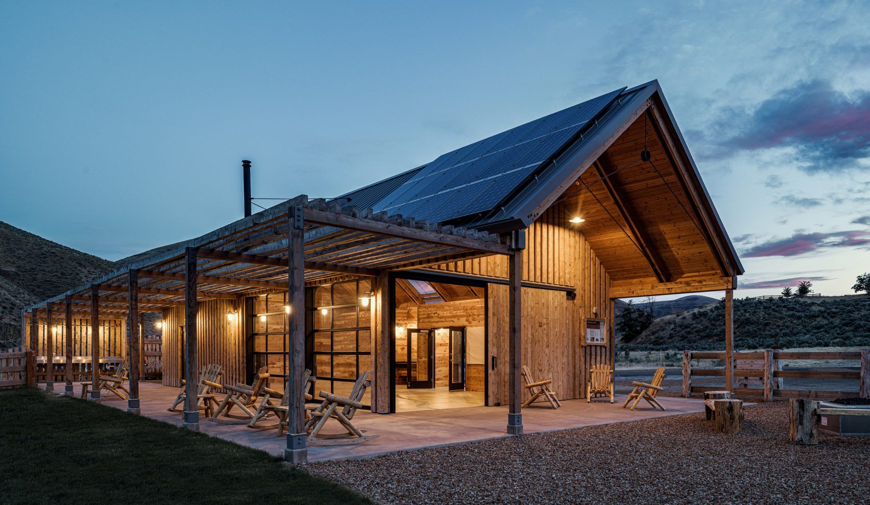 Barns and ranches inform Signal's Experience Center in