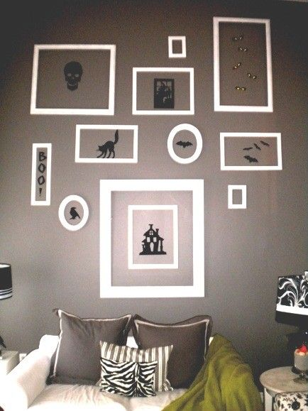 Halloween wall decorating ideas for living rooms | home | Pinterest ...