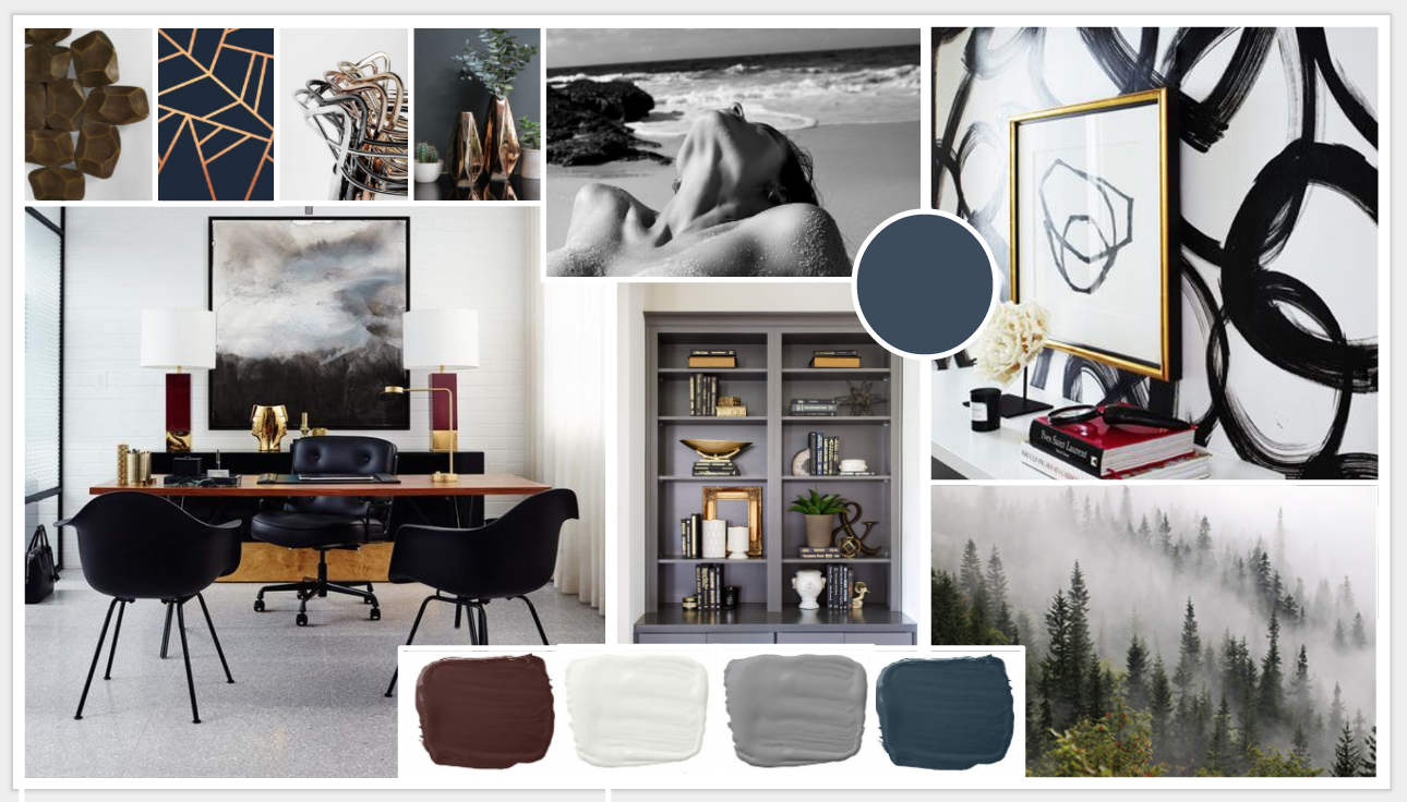 Home Office – Concept Board | Office design concepts ...