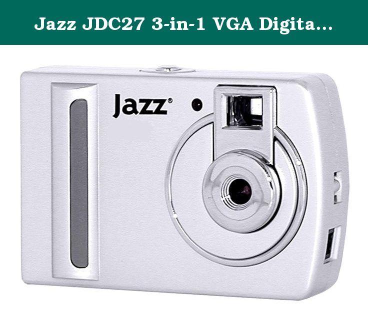 Jazz Jdc27 3 In 1 Vga Digital Camera Silver Digital Still